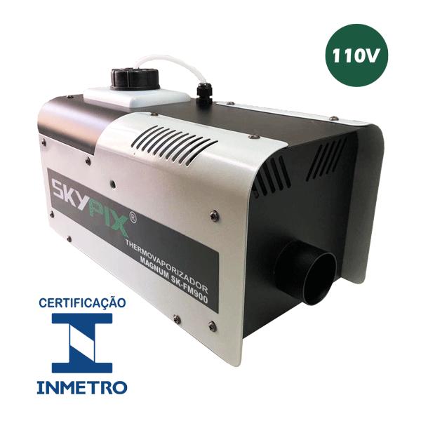 Maquina termovaporizadora elimina covid-19