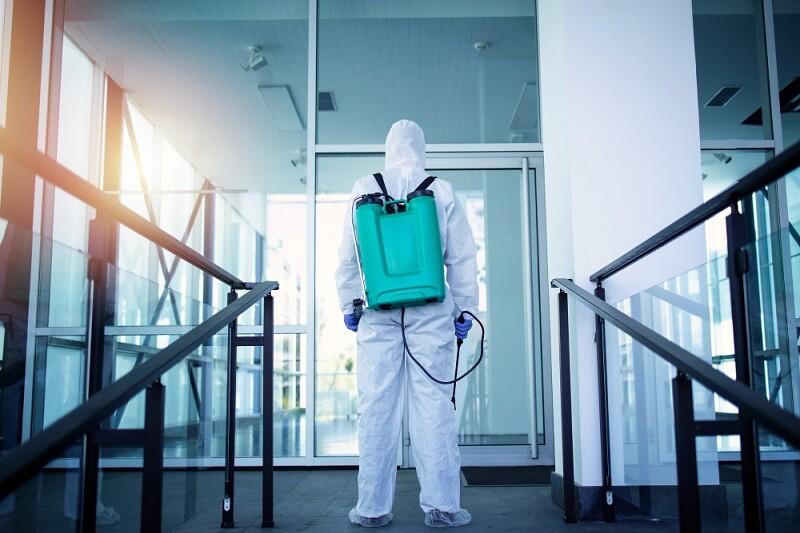 diferença entre sanitização e desinfecção